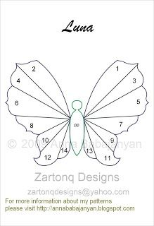 Zartonq Designs: Iris Folding patterns