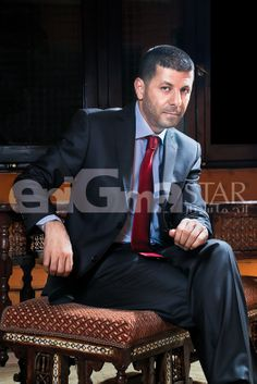 Super Star Eyad Nassar at Le Riad Hotel De Charm's Tea Lounge Extension EnigmaStar's cover shoot August 2013