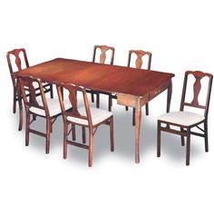 Designed to adapt to your entertaining needs and provide versatile function, the Stakmore Traditional Expanding Dining Table Set - Cherry makes a great. Folding Kitchen Table, Folding Dining Chairs, Dining Table In Kitchen, Dining Room Sets, Table And Chairs, Dining Tables, Folding Walls, Kitchen Nook, Convertible Table