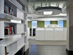 Carney Inc Headquarter Alexandria, Virginia - Entry to 2nd Floor Expansion