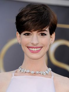 Re-create Anne Hathaway Oscars 2013 lip with our #RoseDelice #LipChic - the shades are identical!