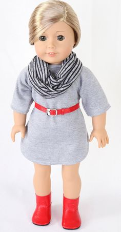 American Girl Doll Clothes MODERN HIPSTER by ModernDollWorld