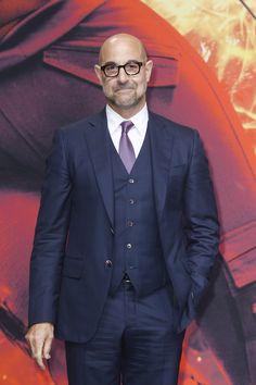 Caesar Flickerman himself, #StanleyTucci at 'The Hunger Games: Mockingjay - Part 2' World Premiere.