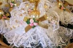 lace angel ornaments -