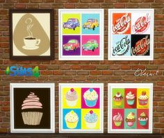 OleSims: Decoration for sweet shop • Sims 4 Downloads