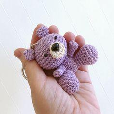 A personal favorite from my Etsy shop https://www.etsy.com/listing/572588249/amigurumi-light-violet-bear-handmade