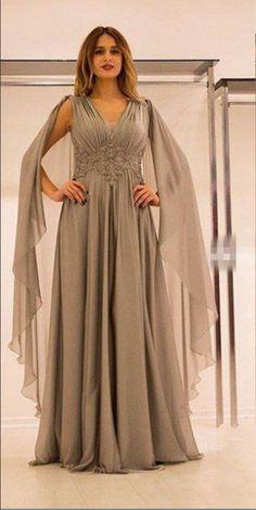 fb202ca358f7 Stylish Dubai Arabia Cheap Mother Of The Bride Dresses Chiffon Lace Floor  Length A Line Dresses Evening Wear Custom Made Mother Dress