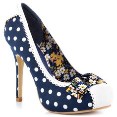 Pink Martini - Navy - Yvonne's #shoes