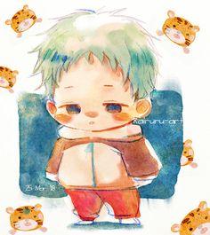"kairuru-art: ""Seriously, i want a kid like Kotaro 。・゚・(つд`゚)・゚・ """