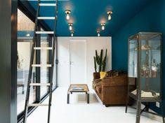 Tendance : les plafonds de couleur structurent la déco