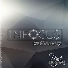 Logo design for InFocus, Financial Advisor, NZ Page Design, Graphic Design, Logos, Life, Logo, Visual Communication
