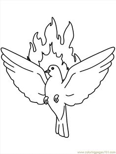 holy spirit coloring page see more kifest pnksd google keress