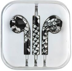 Black And White Scales Earphones Case Pack 12 Check out our Incredible Selection *NEW* Headphones @n2out.com