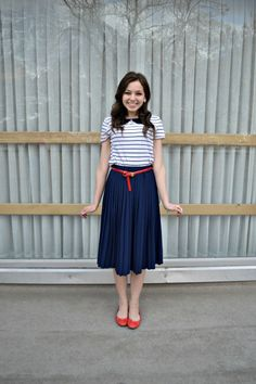 Sister Missionary Style | All American | The Lady Lena #missionary #lds