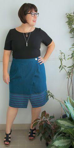Cookin' & Craftin': Testing, testing: Nita Wrap Skirt