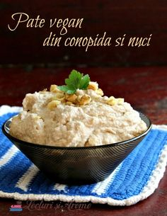 vegane (de post) Archives - Page 4 of 23 - Lecturi si Arome Raw Vegan Recipes, Good Healthy Recipes, Vegan Foods, Cooking Recipes, Paleo, Edible Food, No Cook Meals, Dip, Food And Drink