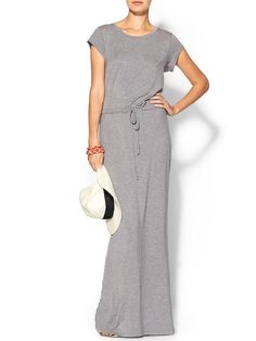 August Salt Drawstring Knit Maxi Dress - this looks comfortable and amazing.