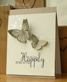Clearly Besotted Stamps—Elegant Butterflies