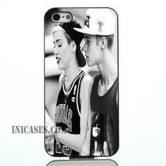 Miley cyrus Justin bieber iphone case,samsung case
