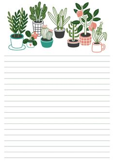 Printable Lined Paper, Free Printable Stationery, Printable Box, Printable Recipe Cards, Printable Letters, Printables, Ramadan Crafts, Cute Stationary, Zeina