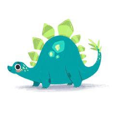 Dino doodle - Crystal Dawn