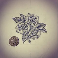 Gorgeous rose piece