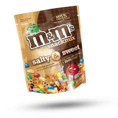 M&Ms Milk Chocolate Salty & Sweet Snack Mix - 8 oz
