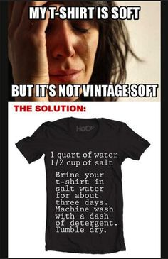 solutions to first world problems