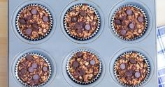 Chocolate Oatmeal Breakfast Cupcakes