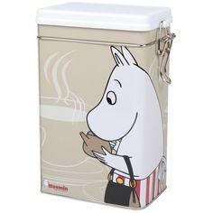 Moomin Moominmamma coffee jar beige - The Official Moomin Shop Moomin Shop, Moomin Mugs, Coffee Aroma, Coffee Jars, Christmas Wishlist 2016, Tove Jansson, Moomin Valley, Kitchen Humor, Funny Kitchen