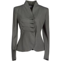 ARMANI COLLEZIONI Blazer ($770) ❤ liked on Polyvore