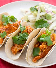 Nothing like homemade tacos: this time, we're adding a refreshing salad on the side!