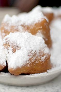 Fried French Quarter Beignets Dessert Recipe