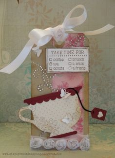 Tea tag by luv2scrapnat (Natalie), via Flickr