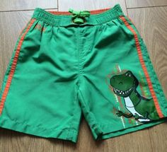 Disney toy story rex boys #swimming #trunks/shorts age 4-5 #years,  View more on the LINK: 	http://www.zeppy.io/product/gb/2/291838755101/