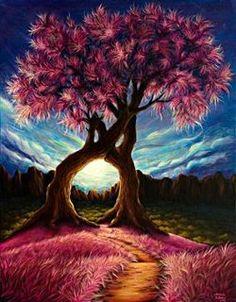 Intertwined Trees - Baucis
