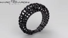 Braided ring with rutenio. Anello intreccio placcato rutenio! Design Marco Giardini