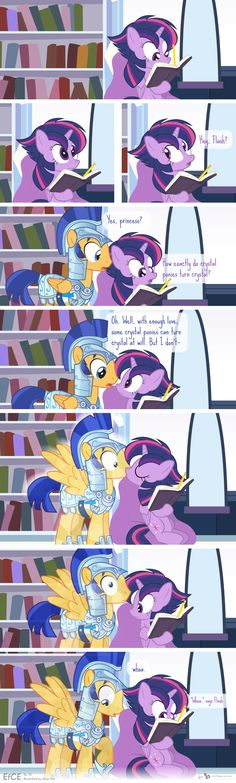 Comic Block: EfCE 13 (The Crystal Flash) by dm29.deviantart.com on @DeviantArt