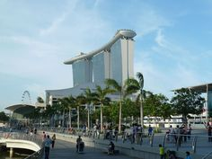 Marina Bay Sands and marine area - Moshe Safdie - Wikipedia, the free encyclopedia