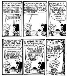 Mafalda - Burocracia