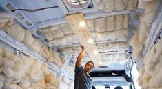 Ceiling Installation in DIY Campervan Conversion - Fit Two Travel Van Insulation, Luxury Campers, Rent A Campervan, Tongue And Groove Ceiling, Plank Ceiling, Camper Van Conversion Diy, Ceiling Installation, Roof Vents, Cool Vans