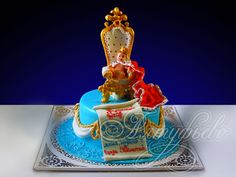Детский торт корона № 632