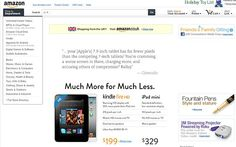 #Apple: pay much more for much less.  E.g. Kindle Fire vs iPad Mini