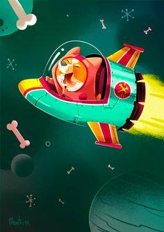Space Corgi!