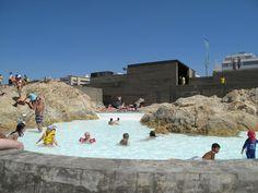 Leça Swimming Pools / Alvaro Siza #zwembad #recreatie