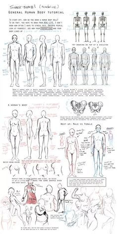 Massive ultimate art reference and tutorial dump! - Imgur