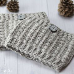 This pattern is part of the Fall 2017 Malia CAL (Crochet-Along). To view the other patterns in this collection, please visit the Malia CAL Homepage. Boot cuffs are such an understated way to add a finishing touch to a cozy indoor or outdoor outfit. And they're so quick to work up, you'l