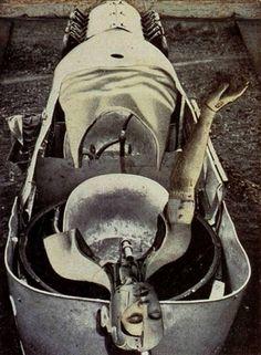 Max Ernst: Die Anatomie als Braut, 1921. More