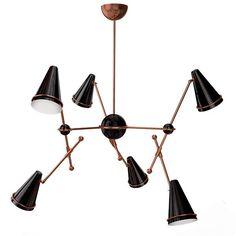 Scarica il catalogo e richiedi prezzi di Tophane   lampada a sospensione by Creativemary, lampada a sospensione in ottone, collezione Cosmomary