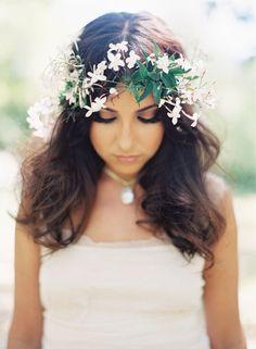 floral halo   Photography: Caroline Tran